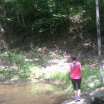 Sarah at the river 2